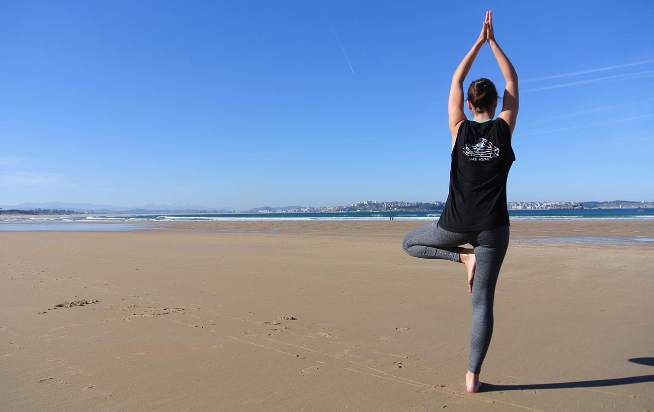 Yoga en Madrid para surfistas