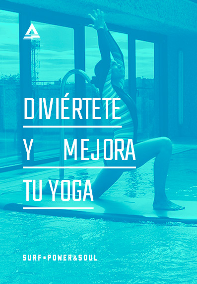 yoga sobre tabla de surf
