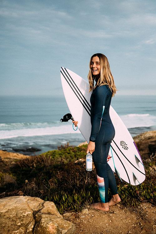 Surfista Leticia Canales